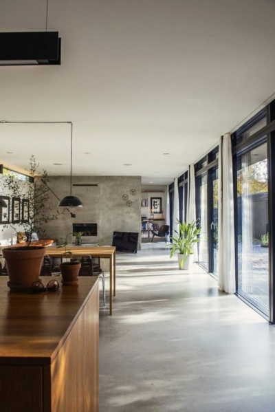 wall and floor concrete